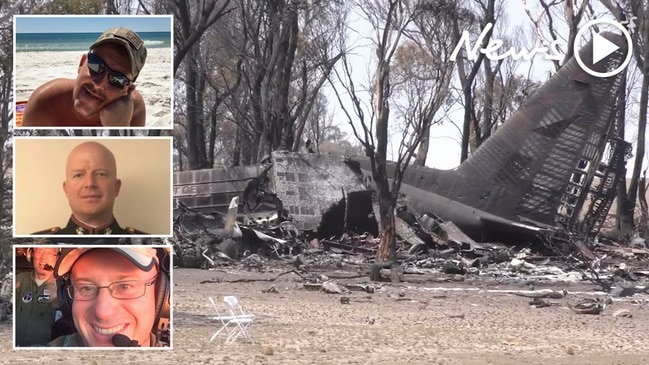 Three killed in air tanker crash