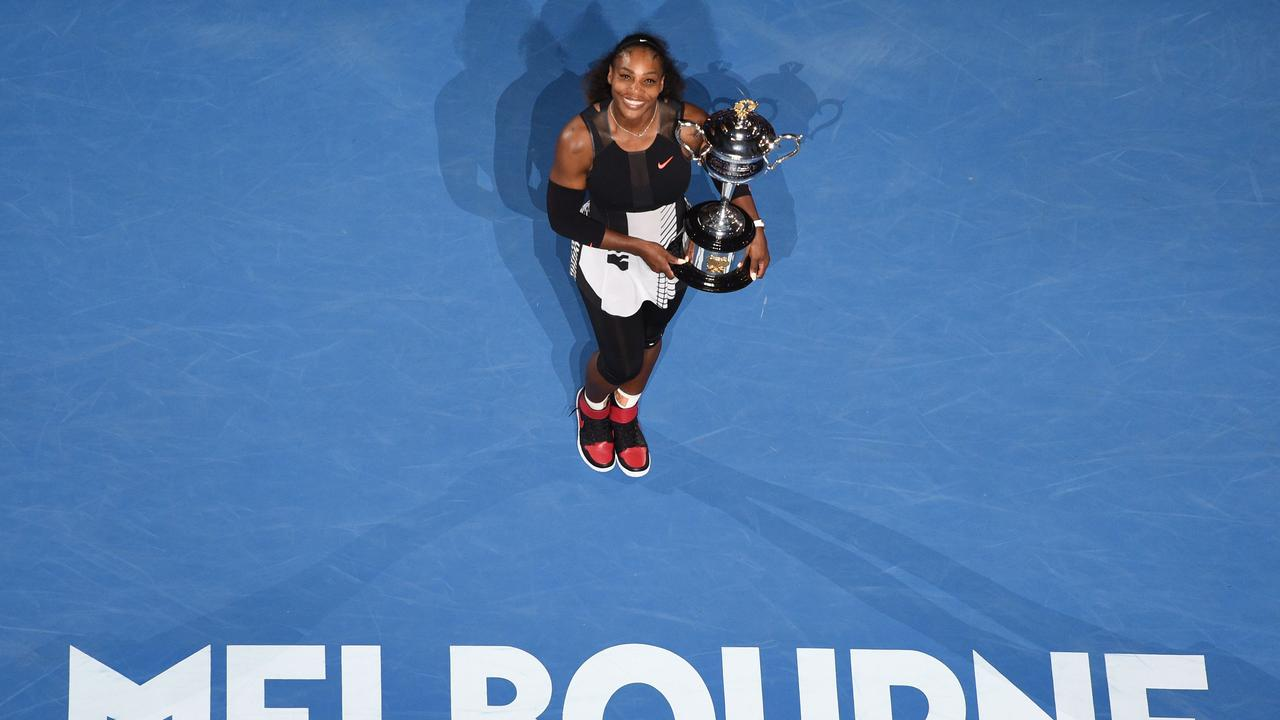 Can Serena Williams take home another title? Photo: Saeed KHAN / AFP