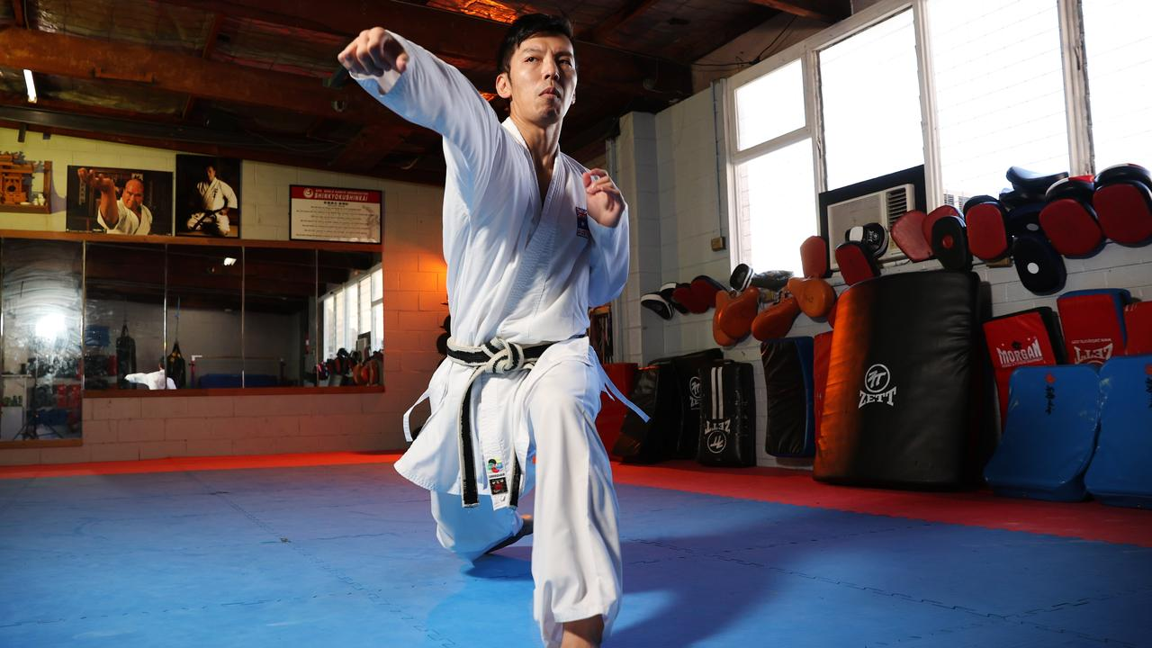 Tsuneari Yahiro will be the first Australian to compete in karate at an Olympics.