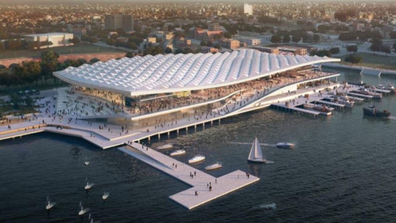 New Sydney Fish Market development. Source: Infrastructure NSW.