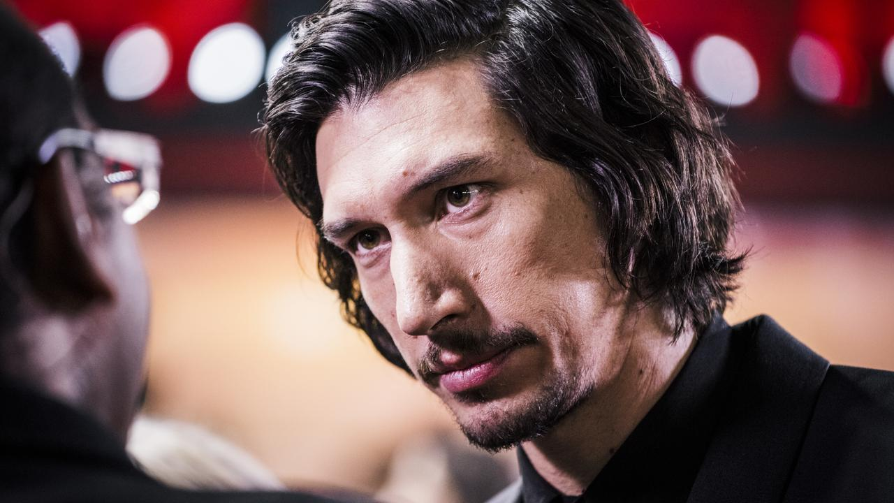 Driver played Kylo Ren in the Star Wars sequel trilogy. Picture: Getty Images for Disney