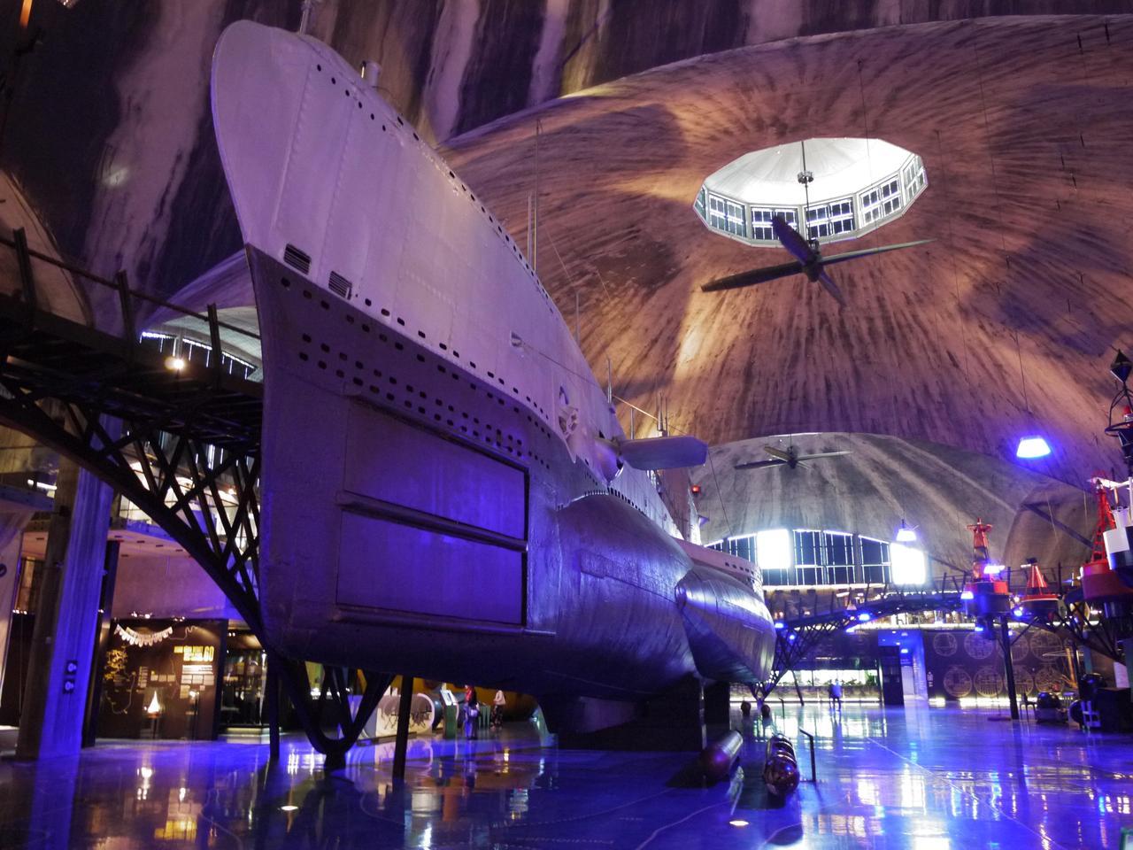 Lembit submarine, built for the Estonian Navy in 1937, now exposed in Estonian Maritime museum in Tallinn