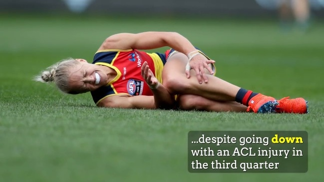 EXPLAINER: Injured Crow Phillips dominates AFLW awards
