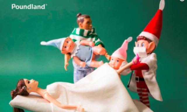 Rude elf campaign shocks shoppers