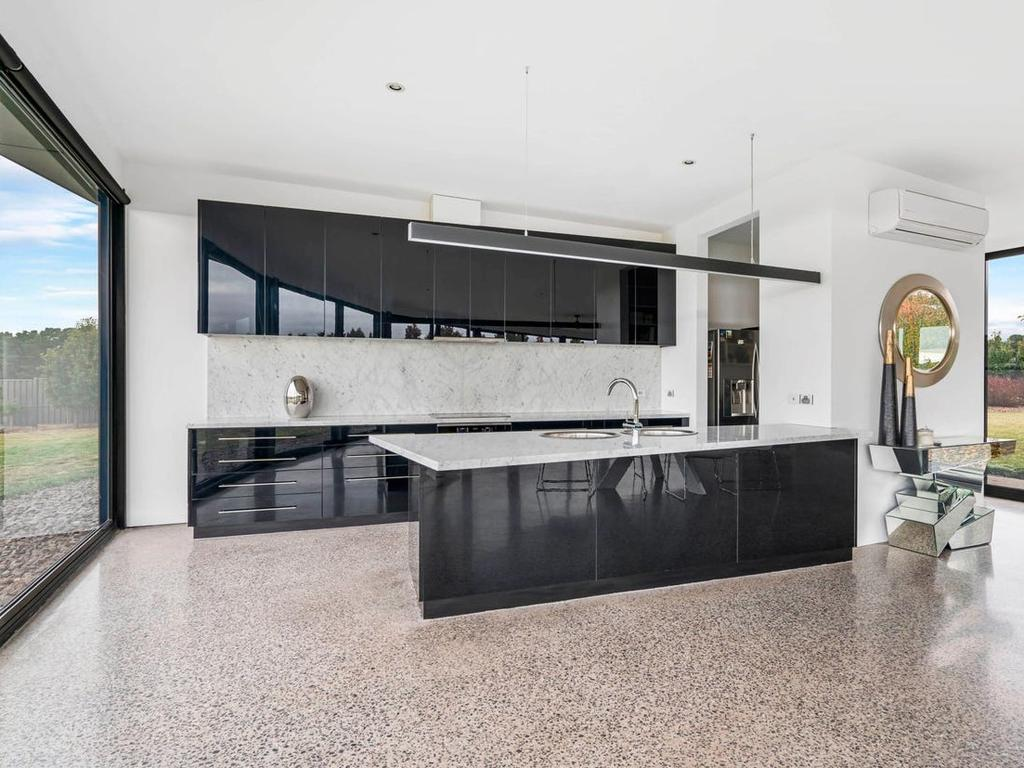 A tranquil and efficient space to whip up dinner or a snack. Picture: Blackbird & Wren/realestate.com.au