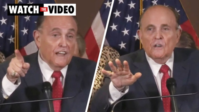 Rudy explodes at reporter in heated press conference: 'You're lying!'