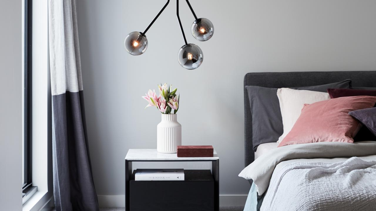 Don't compromise on bedroom lighting. Picture: .beaconlighting.com.au