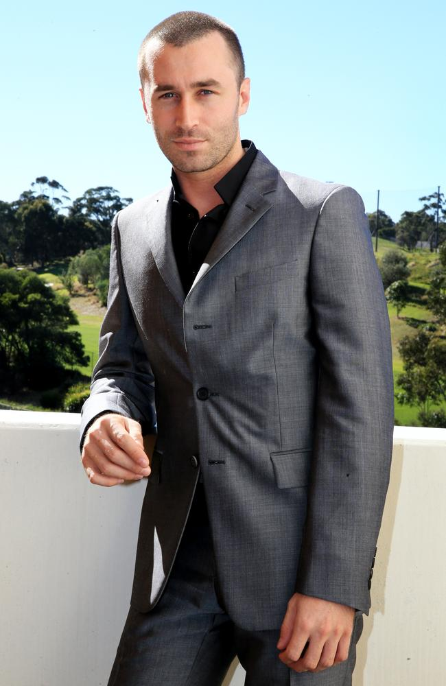 James Deen pictured at the Hordern Pavilion in Sydney at last year's Sexpo.
