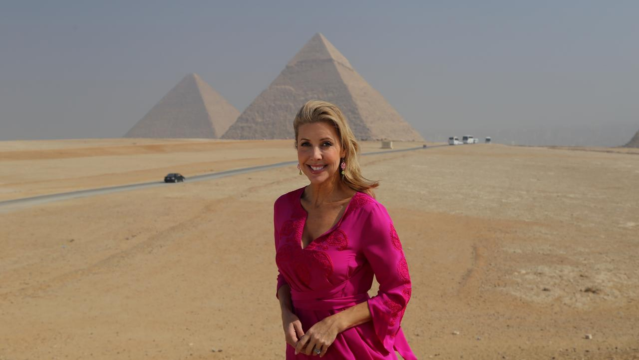 Catriona Rowntree in Egypt.