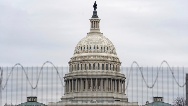 U.S. Capitol building in Washington, D.C., the United States. US House votes to establish select Committee to investigate January 6 Capitol Riots. Picture: Getty