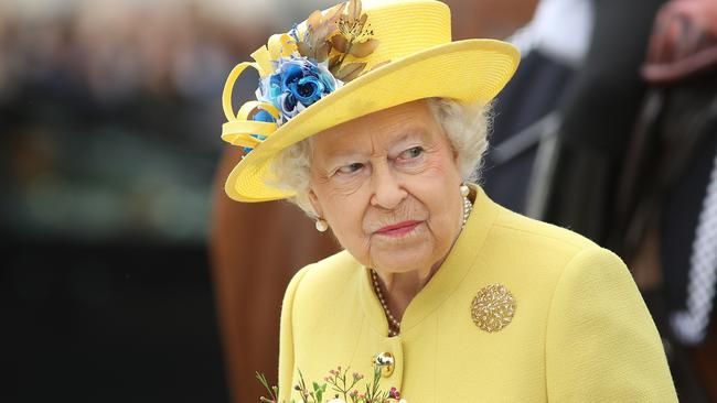 Even the Queen can't say no to a dance when ABBA starts playing. Picture: Dan Kitwood