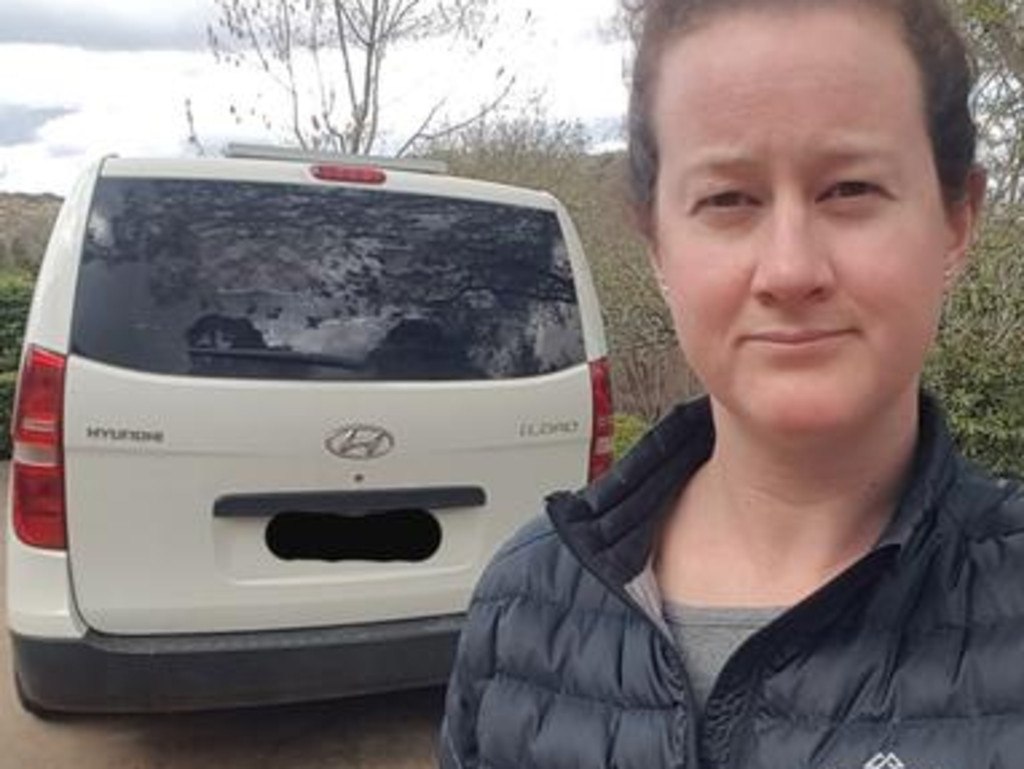 Kirrily has been trapped in regional NSW for nine weeks