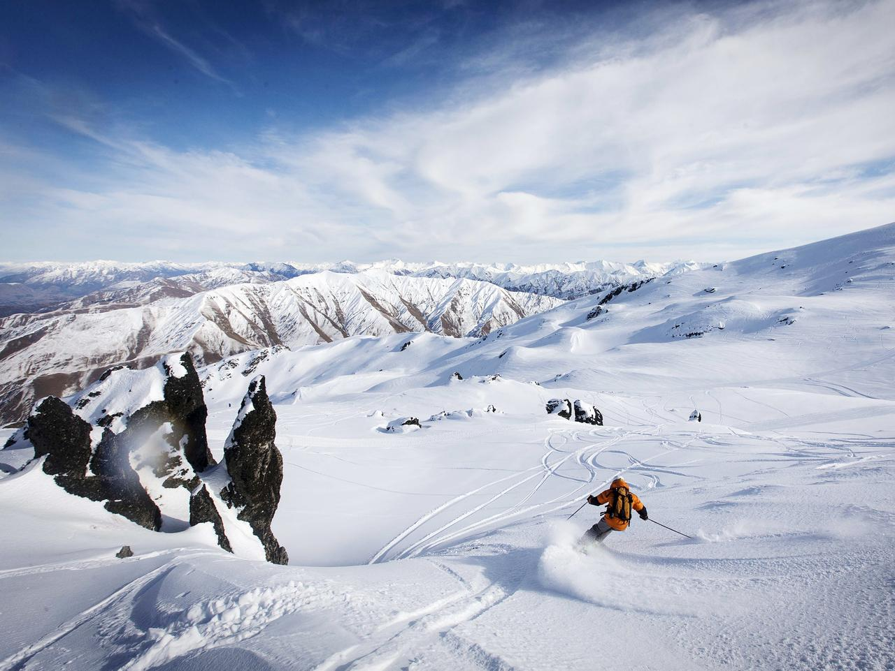 ESCAPE: Soho Basin Private Ski Area, Queenstown, New Zealand. Picture: Soho Basin