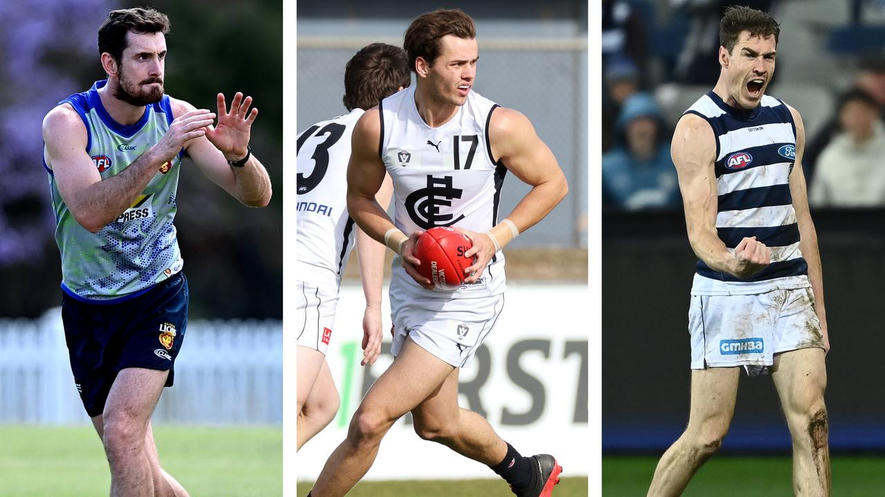AFL Team Whispers: Darcy Gardiner, Brodie Kemp and Jeremy Cameron.