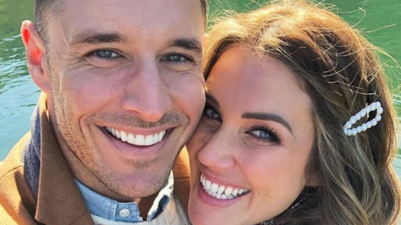 Former Bachelorette Georgia Love fears her second attempt at a wedding during the coronavirus pandemic will be foiled by Tasmania's decision to keep its borders shut until at least December. Picture: Instagram