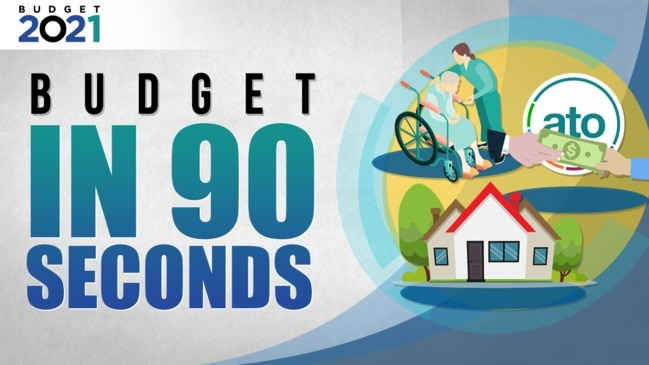 Budget 2021 in 90 seconds
