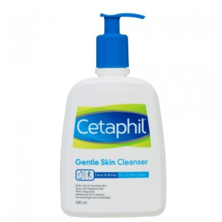 Cetaphil is really gentle on the skin and the wallet too.