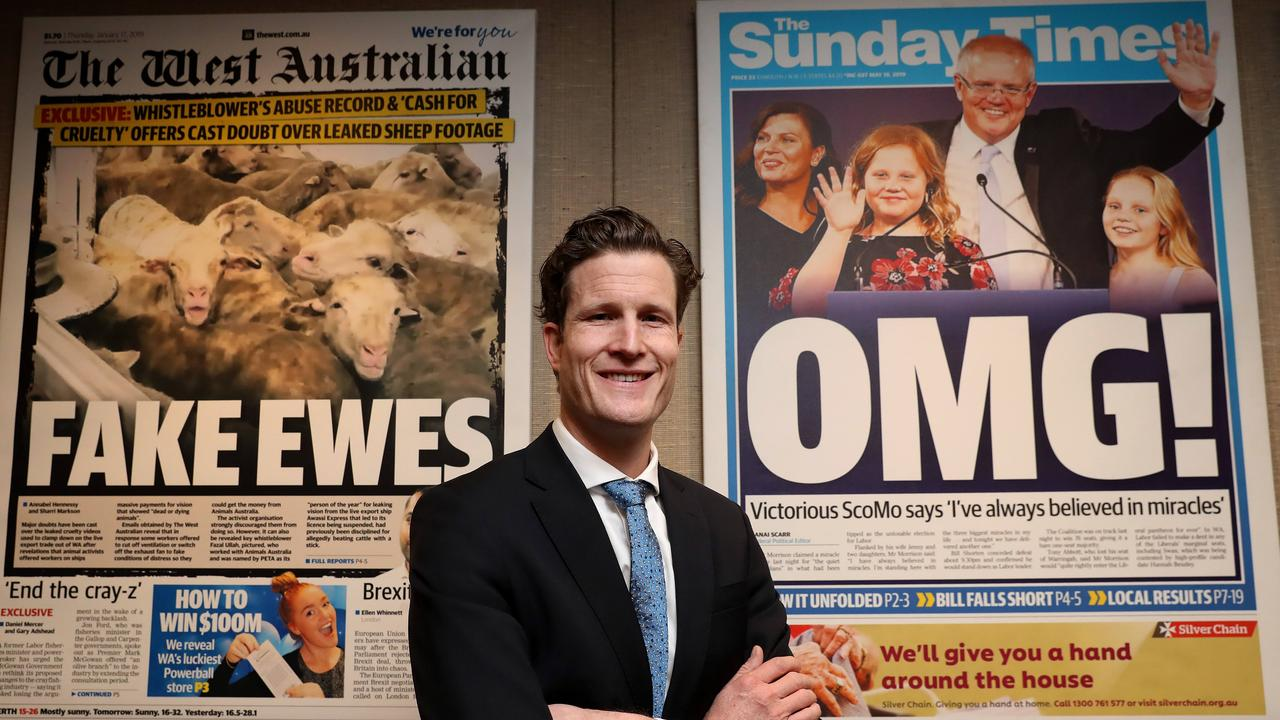 Seven West Media senior editor Anthony De Ceglie. Picture: Colin Murty/The Australian