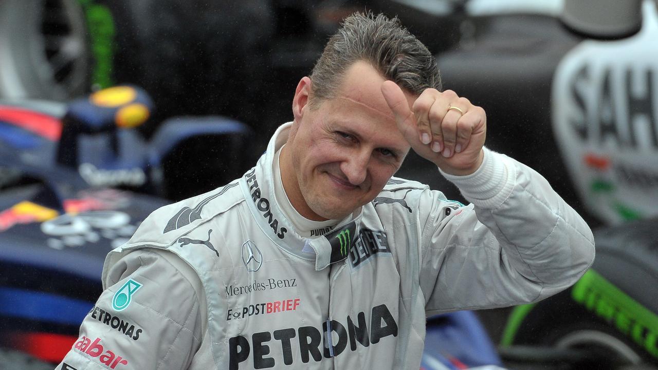 German Formula One legend Michael Schumacher. Photo by Yasuyoshi CHIBA / AFP.