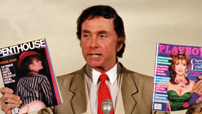 The bar will be named after Bob Guccione. Source: AP Photo/Richard Drew