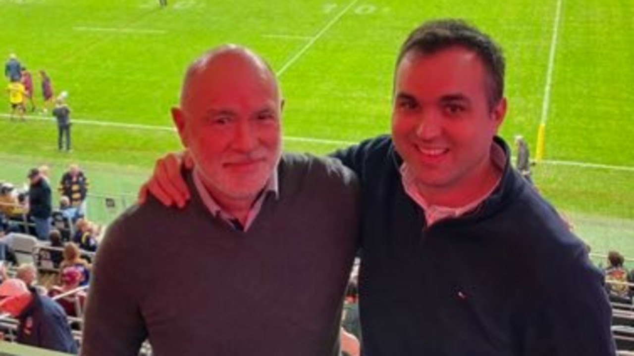 James Willis (right) branded the kneeling of Aussie players at political rubbish.