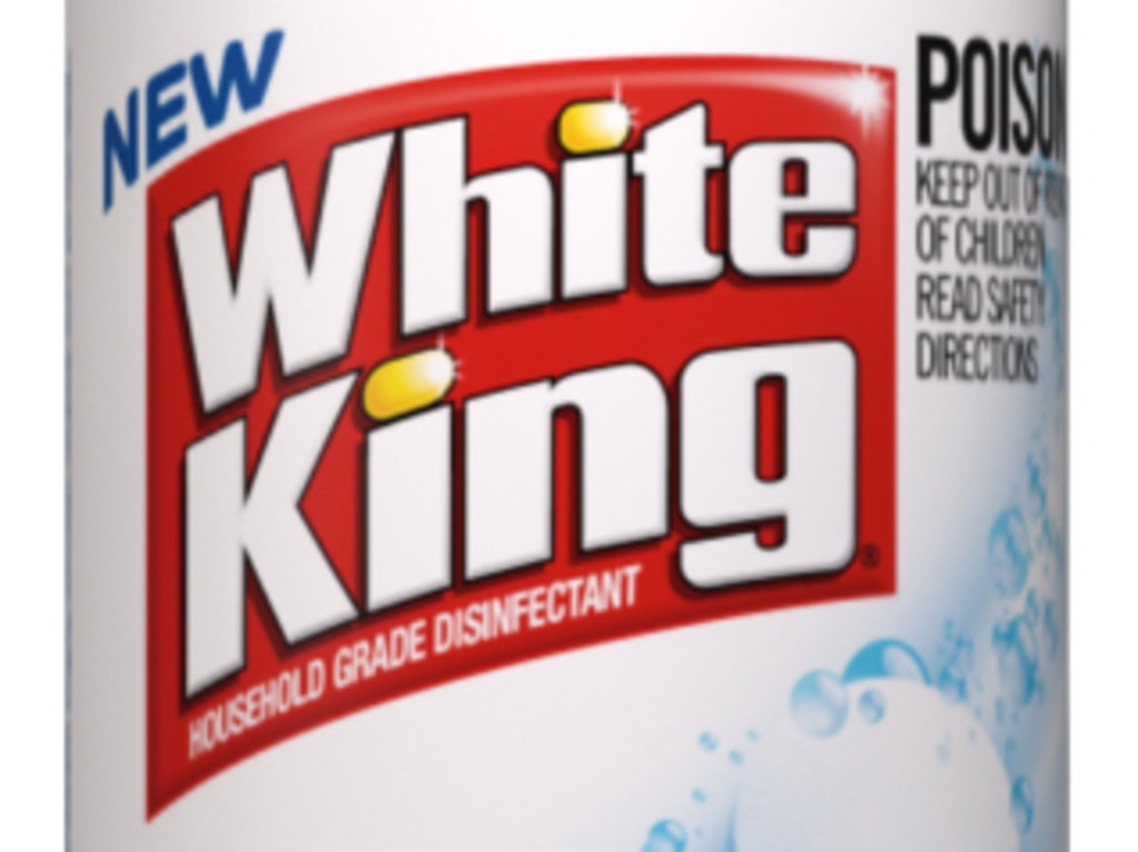 Household cleaning products are sold out like White King bleach.