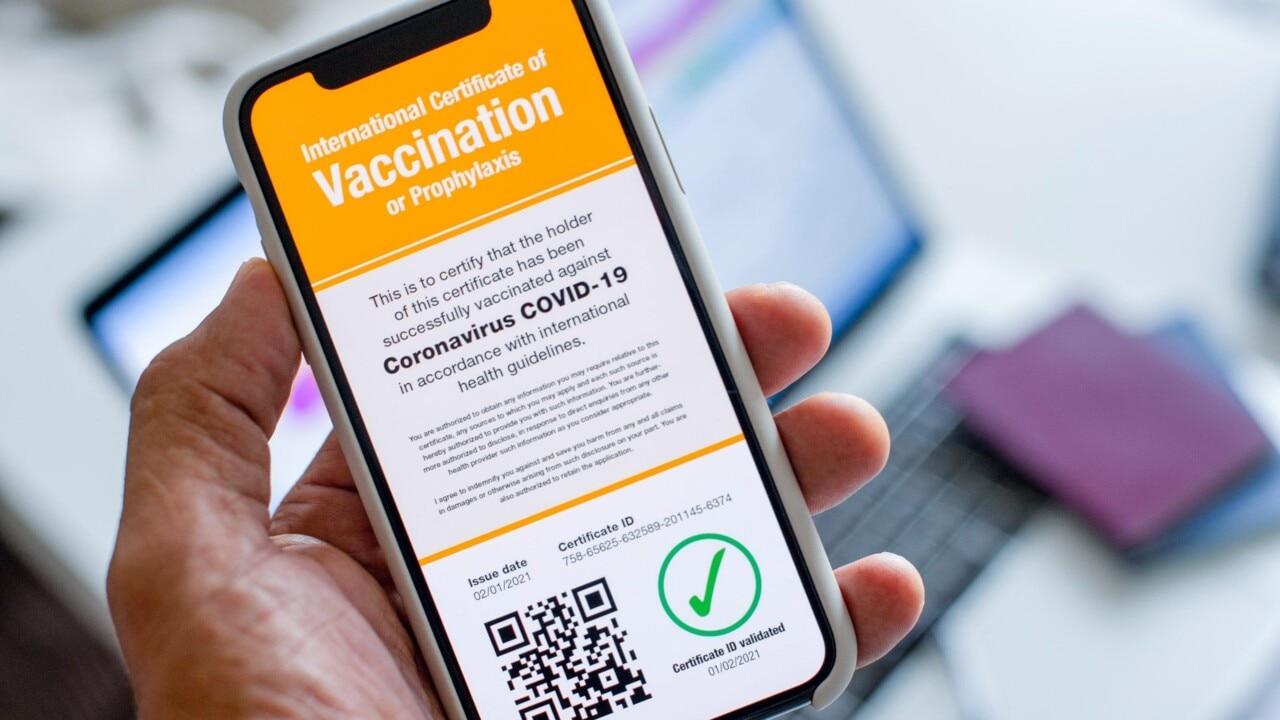 Vaccine passport proposal on the way