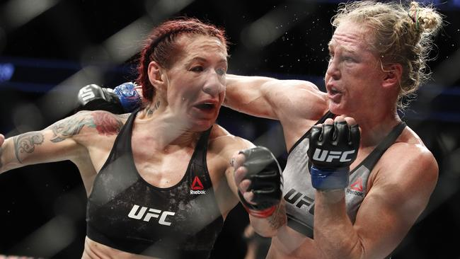 Holly Holm was no match for Cris Cyborg.