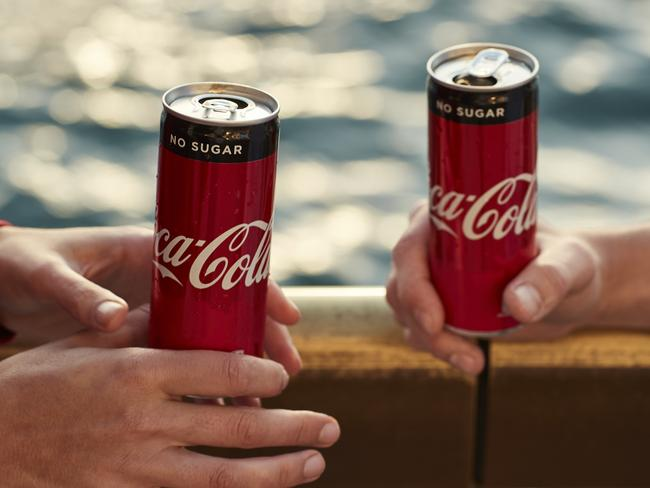 """""""It's just like Coke but without the sugar."""" We will be the judge of that, thank you."""