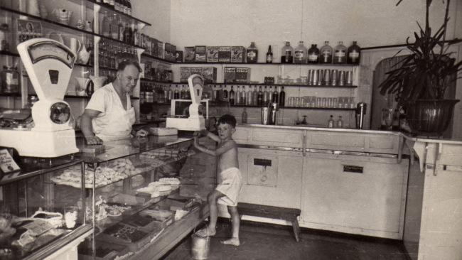 Milk bars were all the rage in the 1940s, like this one in East Brighton.