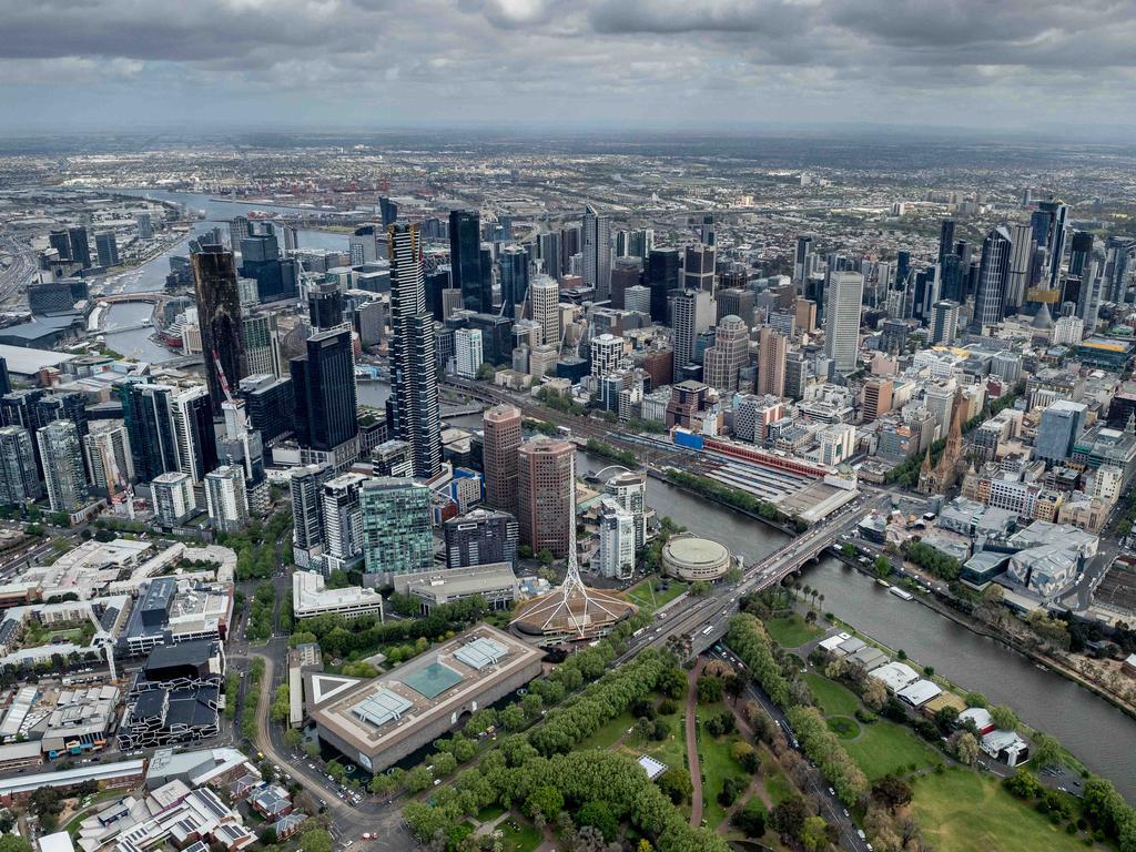 Melbourne has narrowly outstripped Singapore and Sydney. Picture: Jake Nowakowski