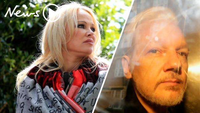 """Pamela Anderson feels """"sick"""" after seeing Julian Assange in prison"""