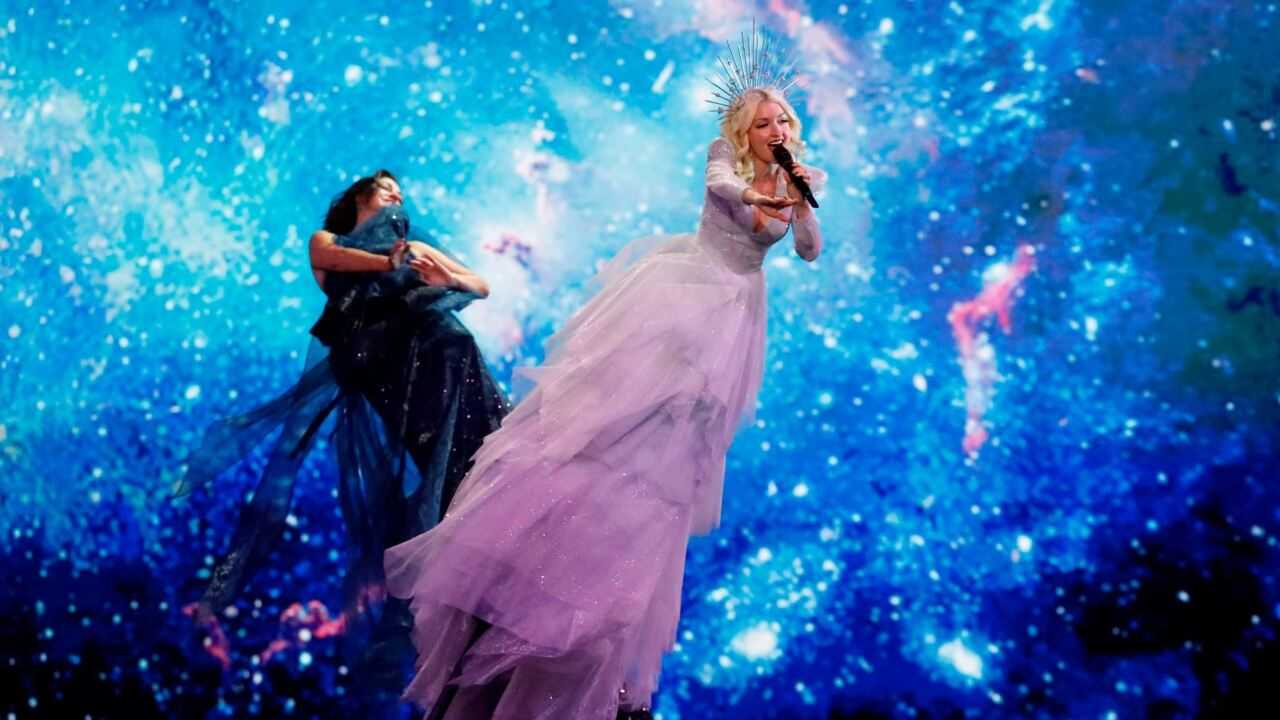 Kate Miller-Heidke makes Eurovision grand final