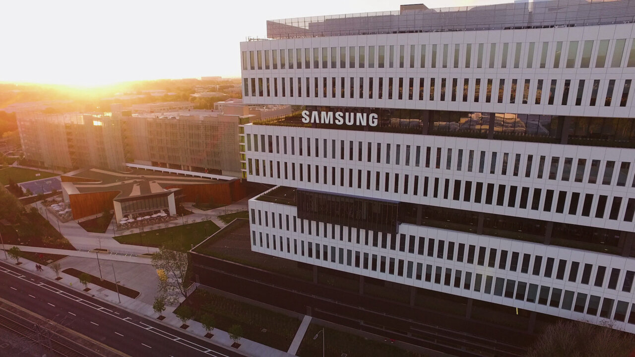 Inside Samsung's $300 Million Open-Air Office of the Future