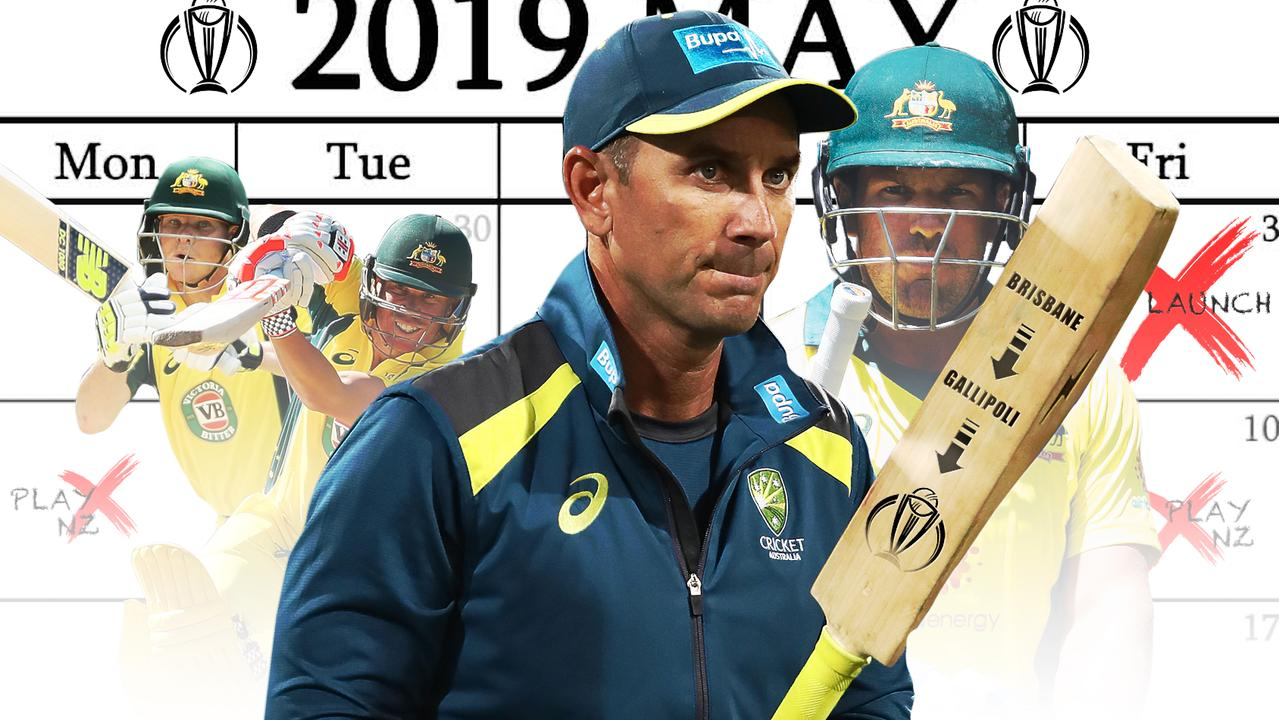 Australia's World Cup preparations are officially underway.