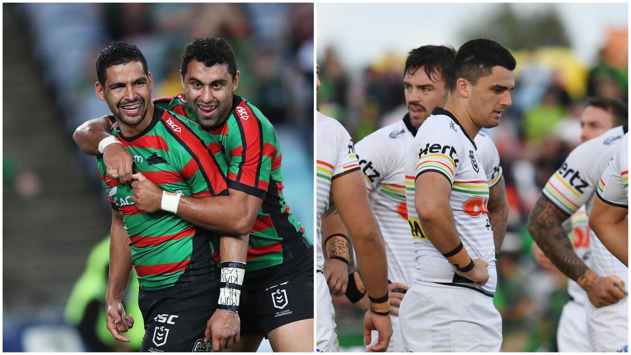 The Rabbitohs are in red hot form while the Panthers are seriously struggling.