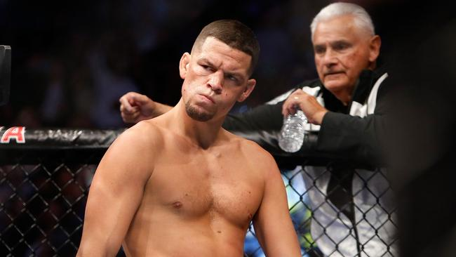 Never shy of controversy. Diaz hits out against McGregor and Kavanagh.