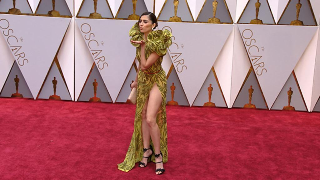 Was actress Blanca Blanco nude under her dress?