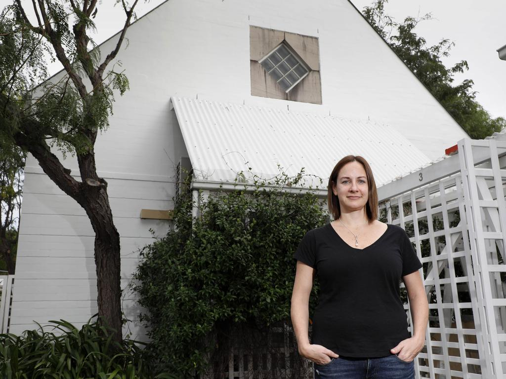 Ms Hay is currently updating and styling her home. Pictures by Chris Pavlich