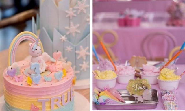 Khloe's third birthday bash for True