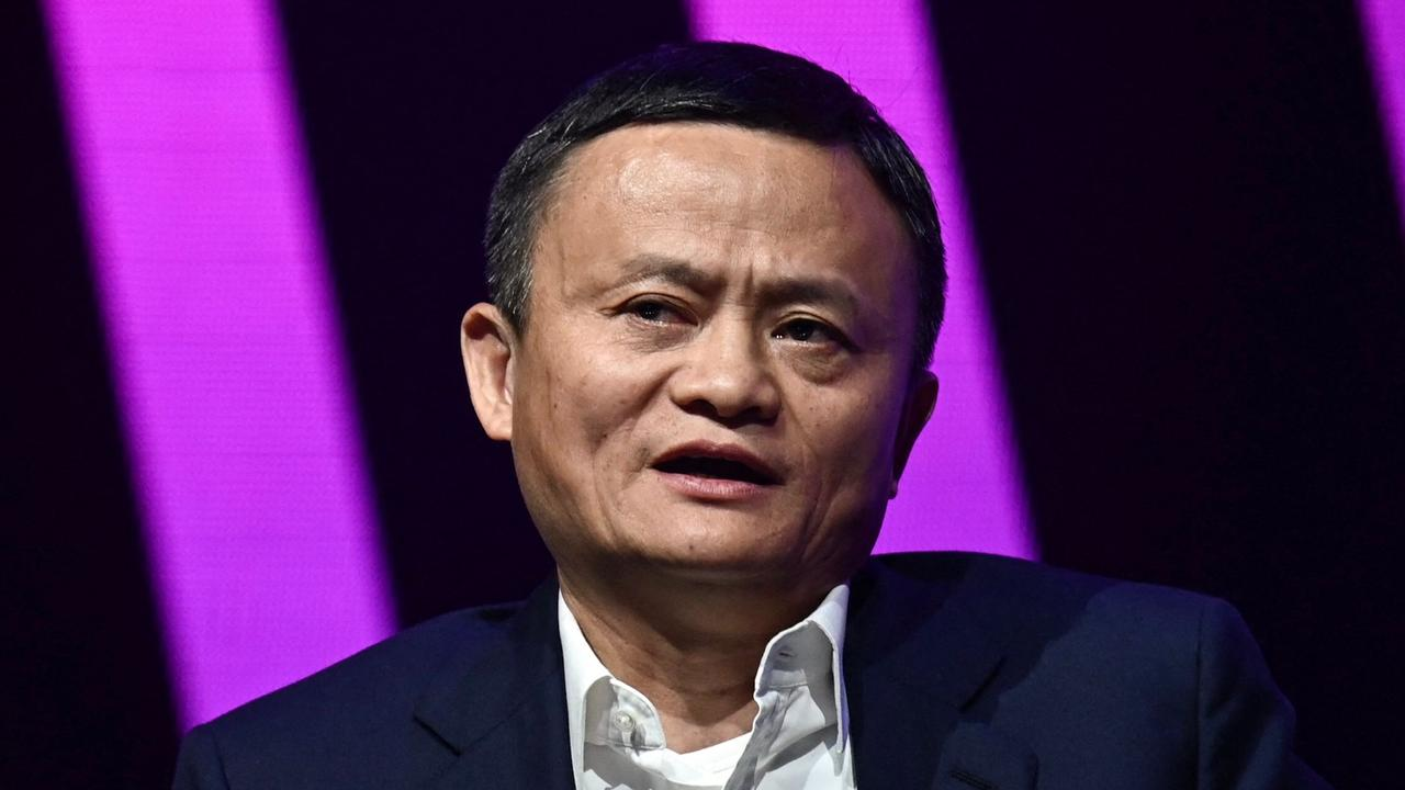 Jack Ma criticised banking regulation and was 'disappeared' as a result. Picture: AFP