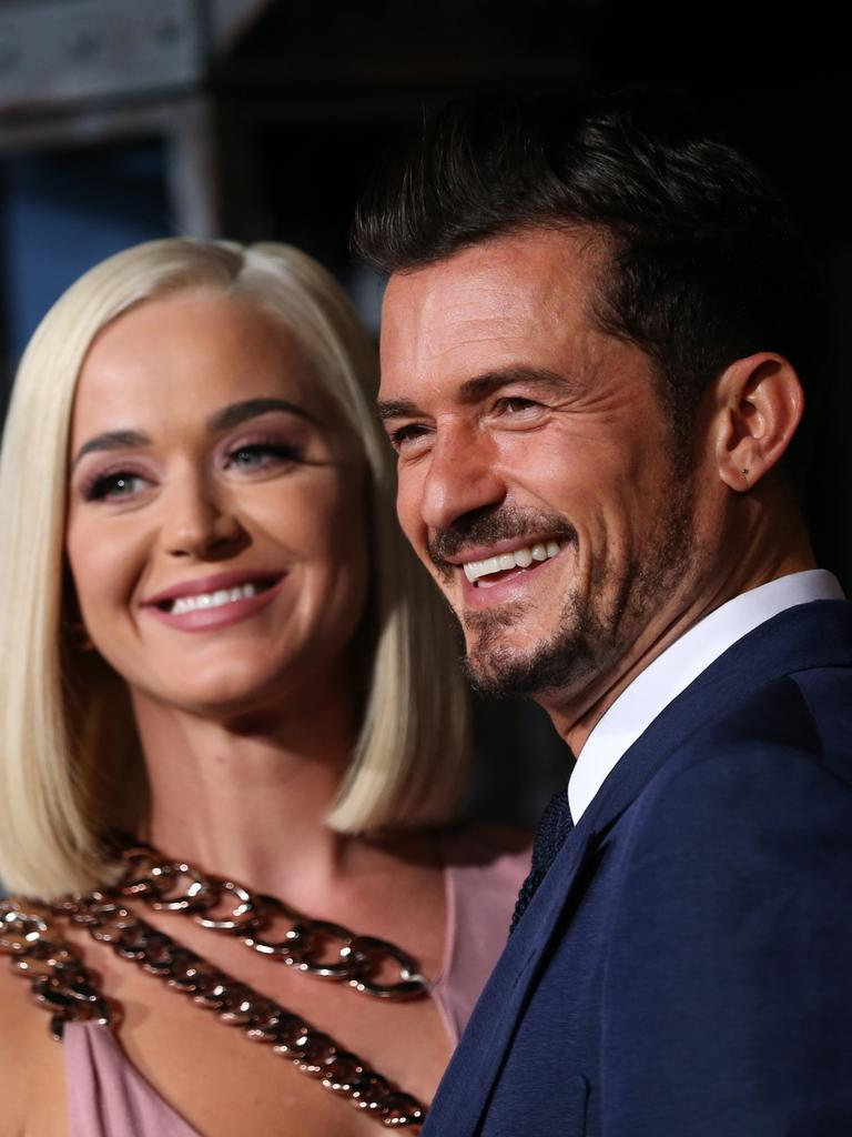 Katy Perry and Orlando Bloom. Picture: Getty