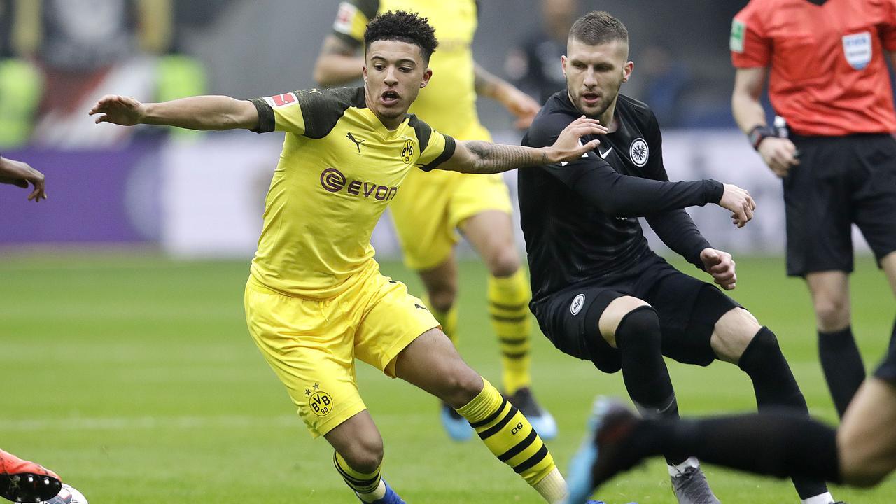 Sancho has flourished since joining Dortmund.