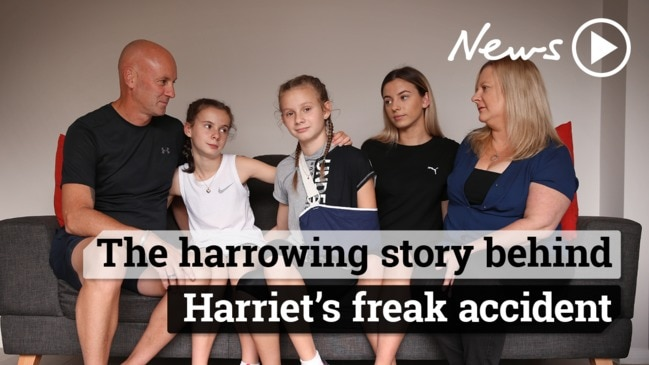 The harrowing story behind brave Harriet Davis and her freak accident