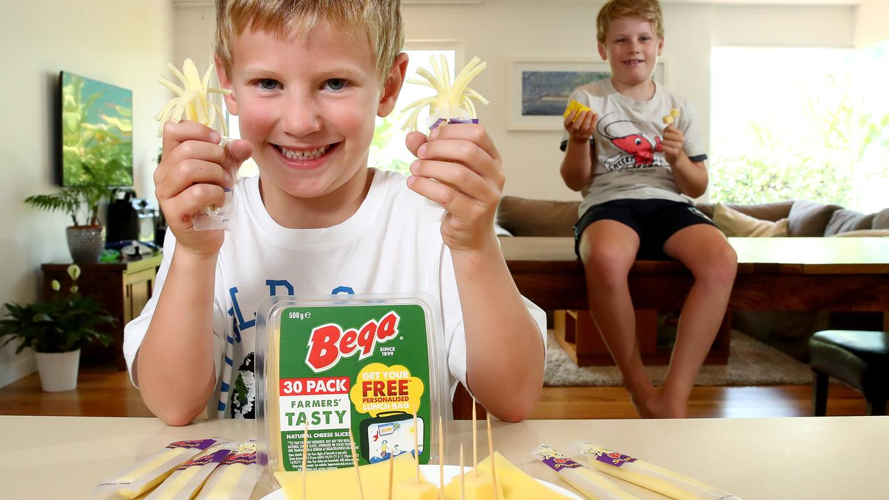 Bega Cheese keeps a keen eye on kid's convenient snacking trends. Picture: Toby Zerna
