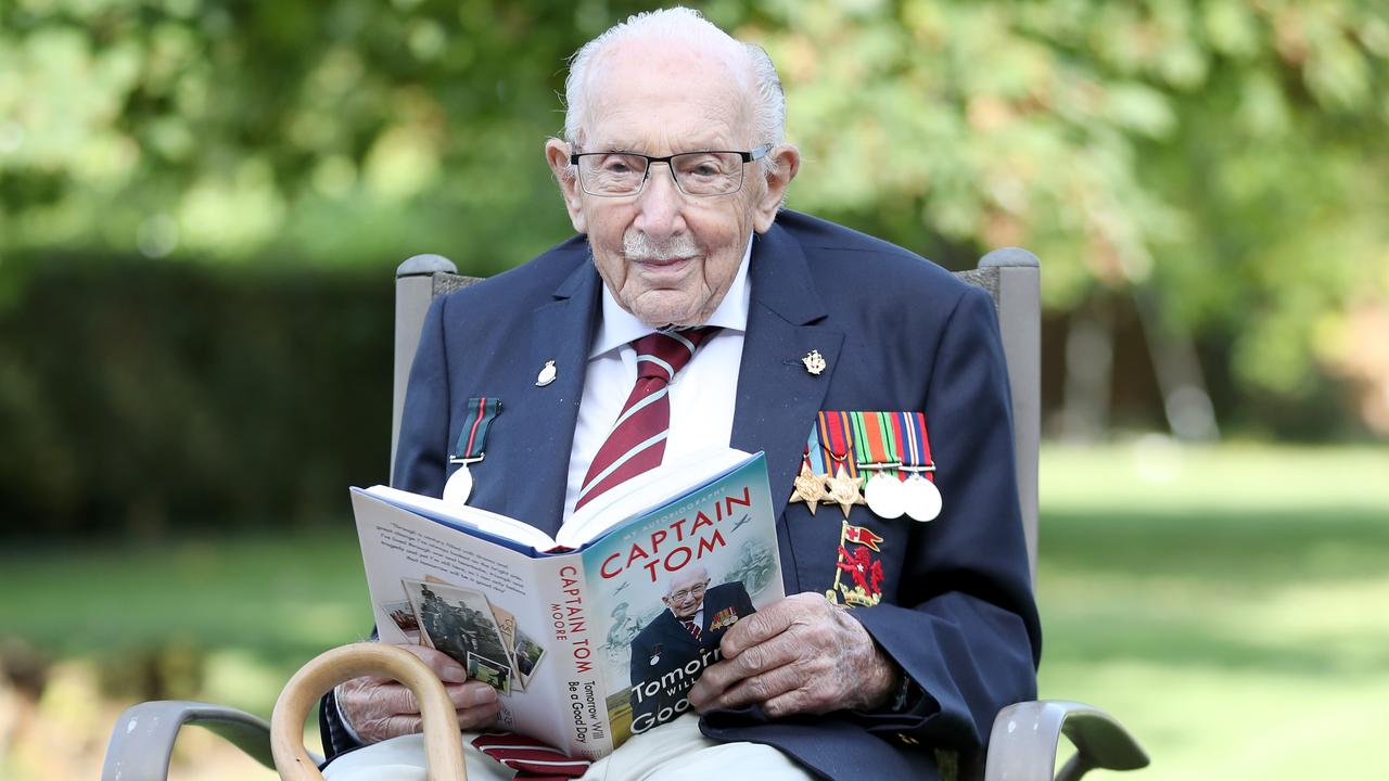 British World War II veteran Captain Sir Tom Moore, who died this week after raising over £32 million for UK health workers. Picture: Chris Jackson/Getty Images