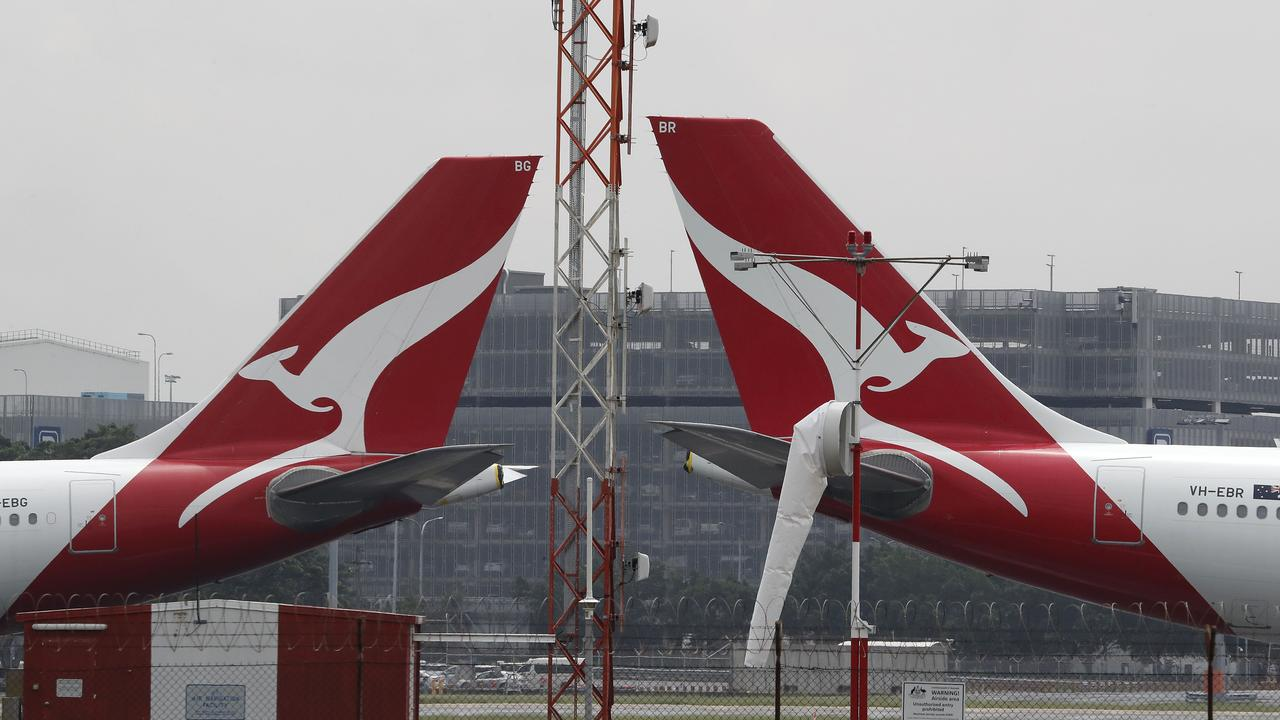 Australian overseas travel has been stopped since March 2020. Picture: NCA NewsWire / David Swift