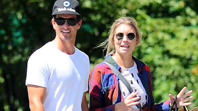 Adam Scott and wife Marie Kojzar will be in Queensland for Christmas.