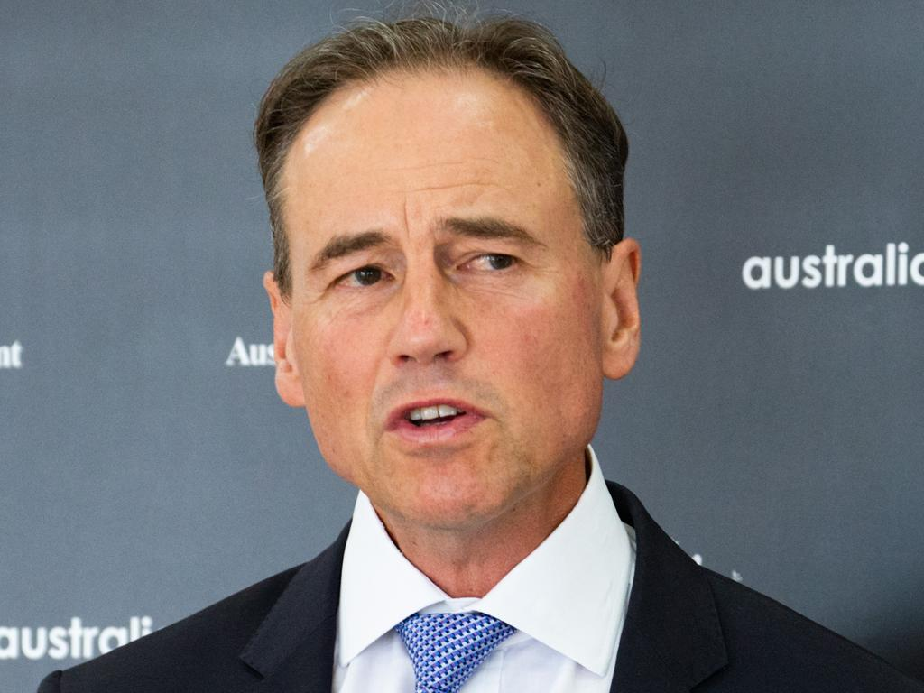 Health Minister Greg Hunt has long defended the government's handling of the vaccine rollout.