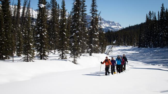 Snowshoeing is just one of the many ways you can go exploring. Source: Devaan Ingraham.